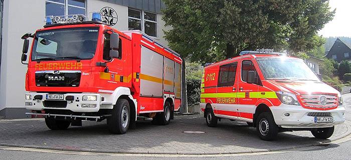 Feuerwehr Neustadt blickt auf 2018 zurück