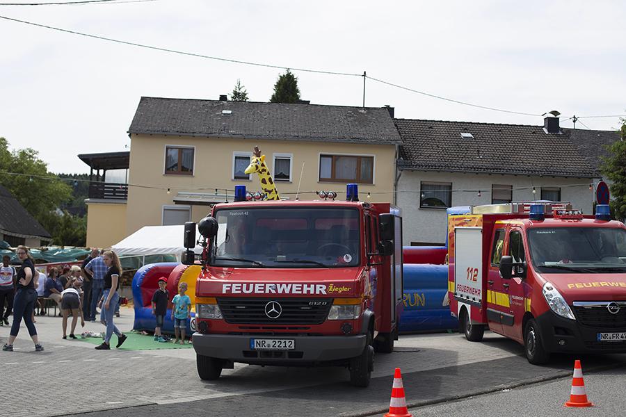 Feuerwehr Raubach feierte an Pfingsten