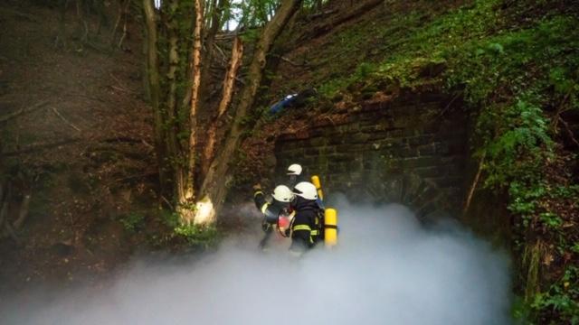 Anspruchsvolles Übungsszenario der Feuerwehr Vettelschoß