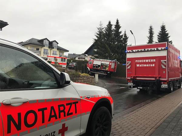 Feuerwehreinsatz zur Unterstützung des Rettungsdienstes