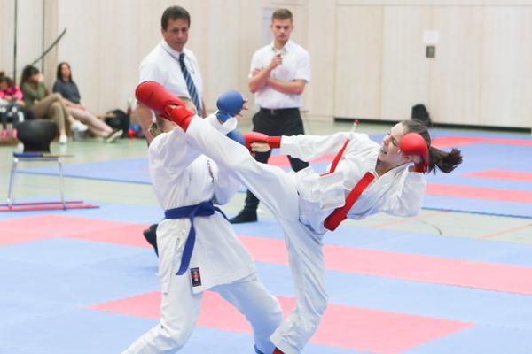 KSC Karate Team mit 15 Finals auf Landesmeisterschaft