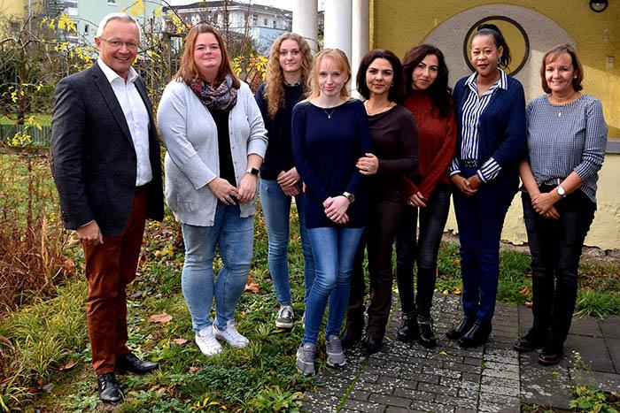 Flüchtlingskoordinatorinnen der VGs im Austausch