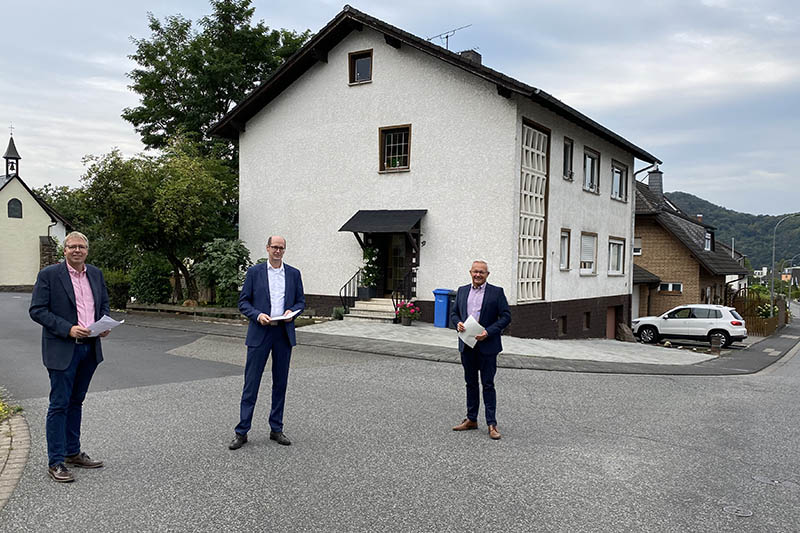 381.000 Euro Zuschuss für den Straßenausbau in Rheinbrohl