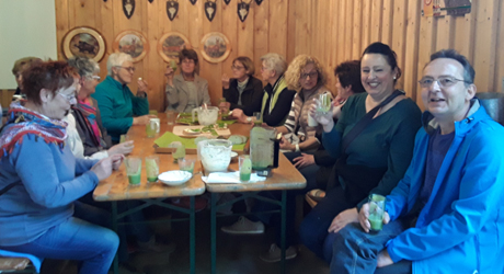 Landfrauen Wissen-Mittelhof-Katzwinkel lernten Kräuter kennen