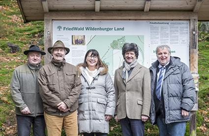 Ruheforst Wildenburger Land ist jetzt ein FriedWald