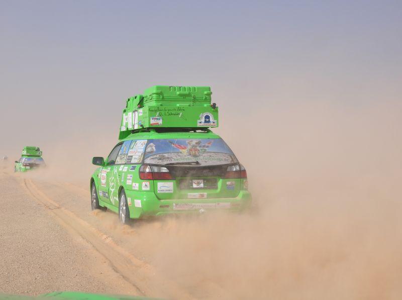 Startklar zur Hachenburger Gastro-Rallye
