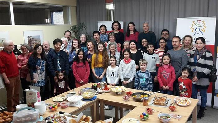 Interkulturelles Familienfrühstück des MGH gut angenommen