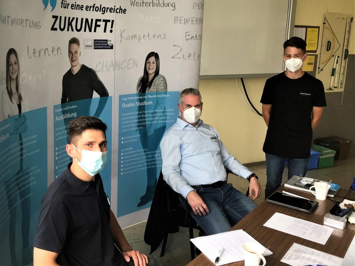 Realschule plus Daaden: Firmensprechtag besonders in diesen Zeiten wichtig<br />