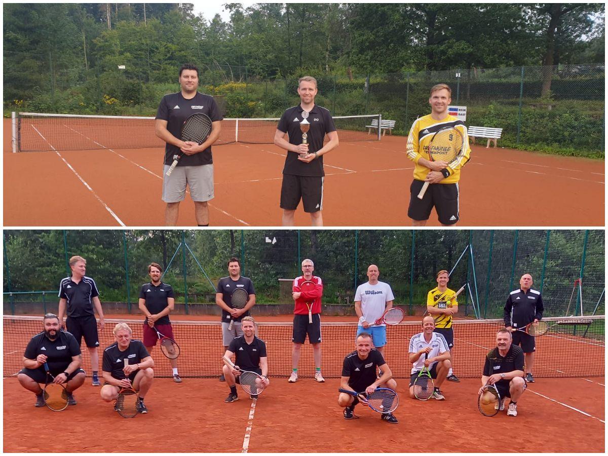 Turnier der AH Sportfreunde Schönstein: Fußballer können auch gut Tennis spielen