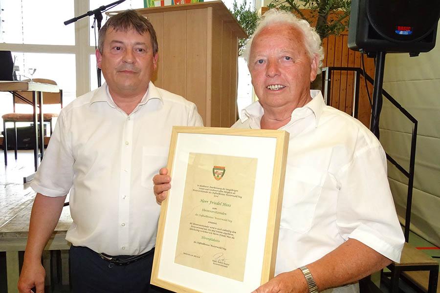Klaus Robert Reuter neuer Fußball-Kreisvorsitzender