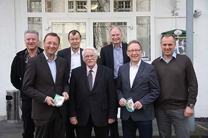 Plädoyer für Sport beim Fußballverband Rheinland