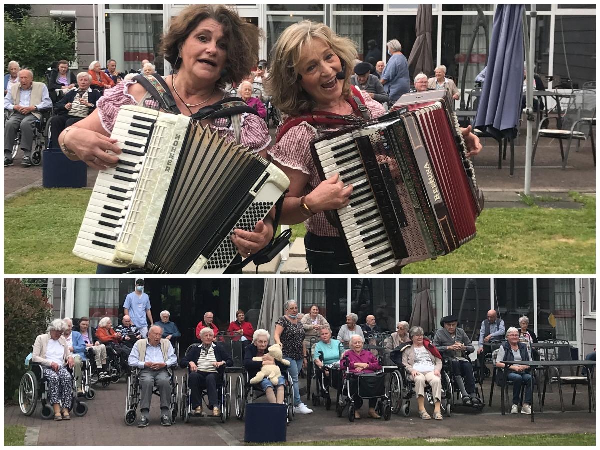 Seniorenheim Niederfischbach: Musikalische Lebensfreude verbreitet