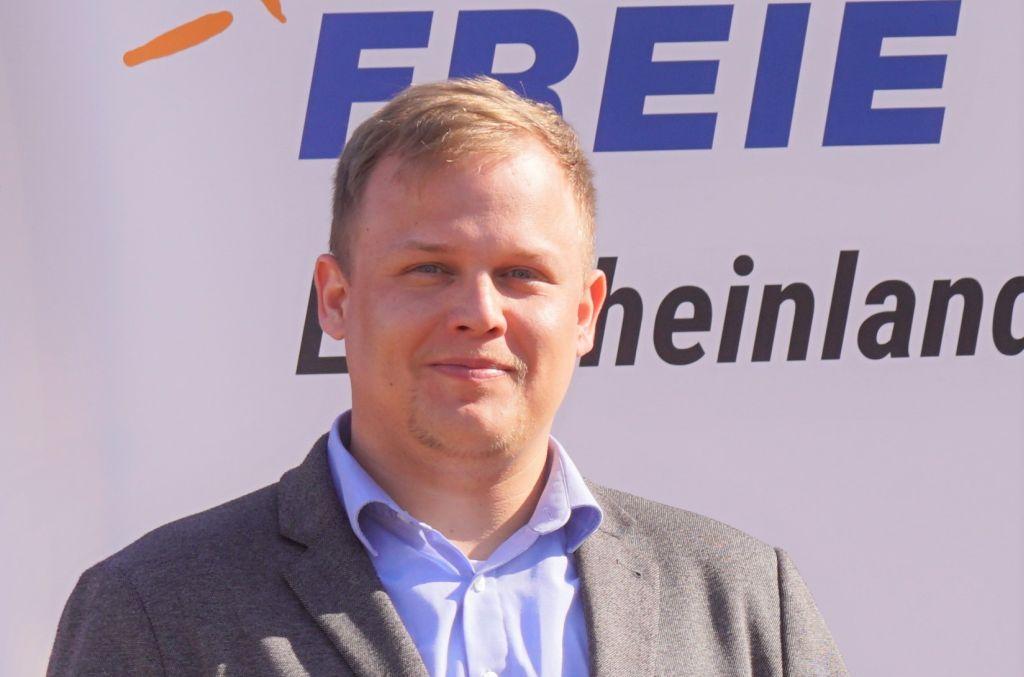 Sascha Kraft kandidiert für den Bundestag