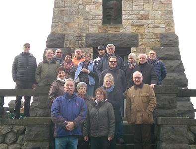 FWG Altenkirchen besuchte Historische Quartier und Bismarckturm