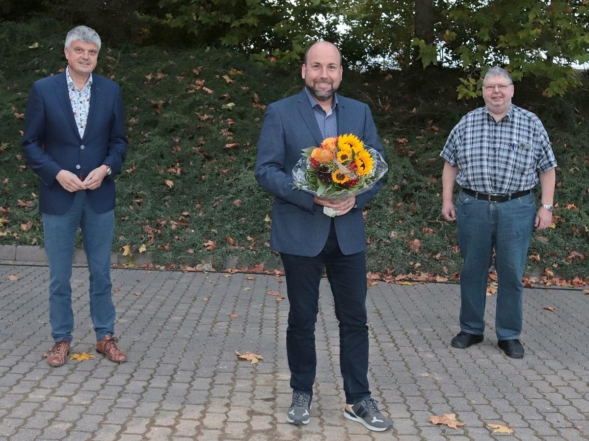 Andre Philippi ist neuer Ortsbürgermeister von Maxsain