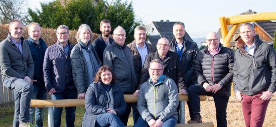 Das Team der FWG für Birken-Honigsessen mit Ortsbürgermeister Hubert Wagner (2. von rechts). (Foto: FWG)