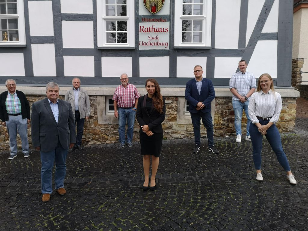 FWG begrüßt MdL Lisa-Marie Jeckel (FREIE WÄHLER) in Hachenburg