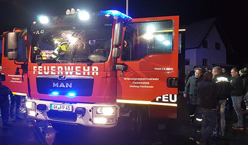 Neues Feuerwehrfahrzeug für den Löschzug Pleckhausen