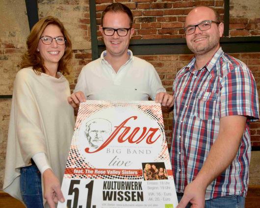 Neue Friedrich-Wilhelm-Raiffeisen-Big-Band swingt ins neue Jahr