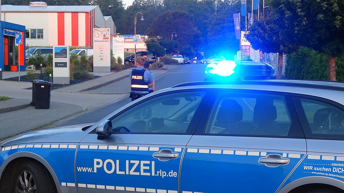 Geldautomat in Dierdorf gesprengt