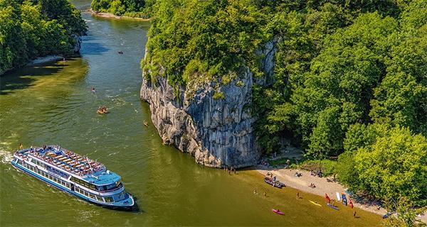 Flussreisen auf der Donau