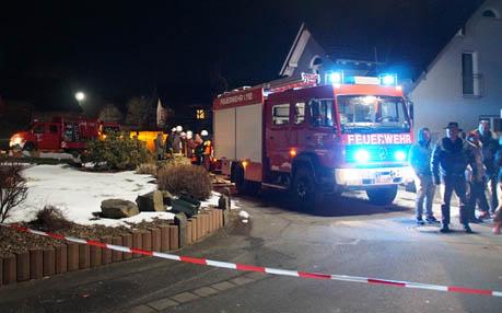 Feuerwehreinsatz: Defekter Gastank in Ettinghausen