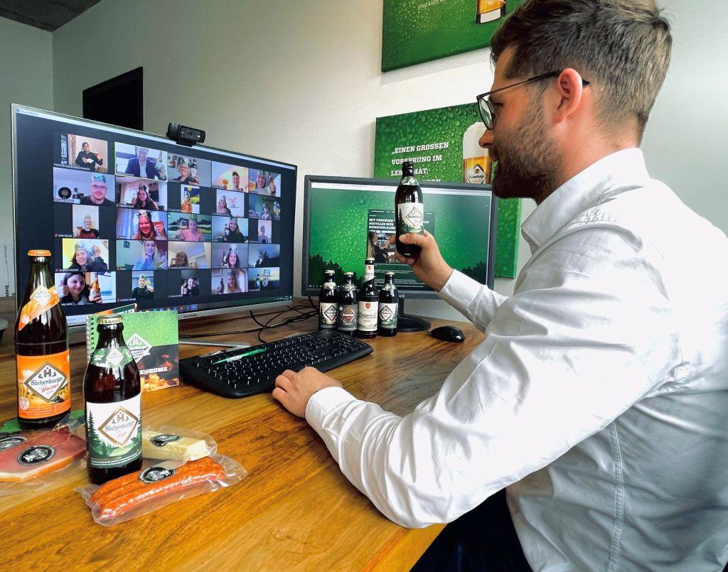 Hachenburger Bierschule@home für Auszubildende der Gastronomie