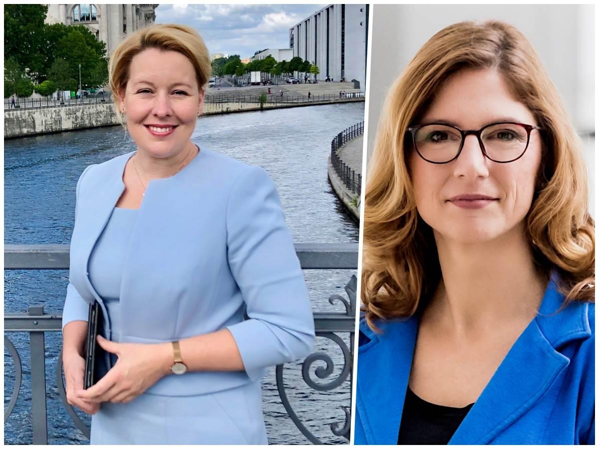 Insta-Chat: Sabine Bätzing-Lichtenthäler begrüßt Franziska Giffey