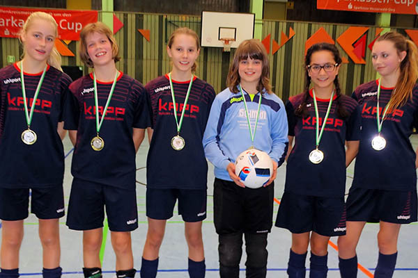 SV Gehlert ist Futsal-Hallen-Kreismeister 2017 bei C-Juniorinnen
