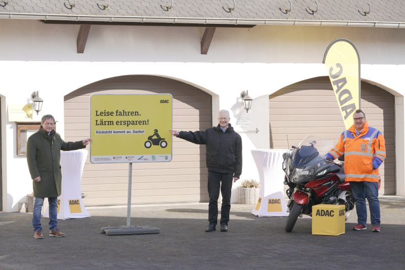 ADAC startet Pilotprojekt gegen Motorradlärm im Gelbachtal