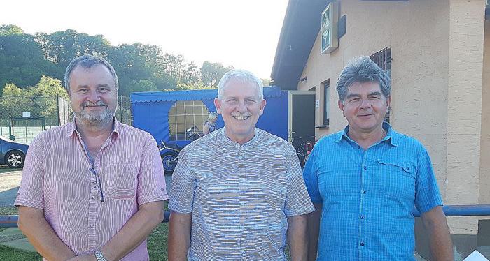 Die Führungsspitze der Ortsgemeinde Fürthen: (von links) Markus Backst, Michael Rzytki und Frank Keil. (Foto: Ortsgemeinde Fürthen)