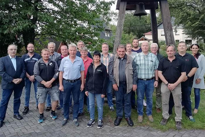 Der Rat in Steimel. Foto: privat
