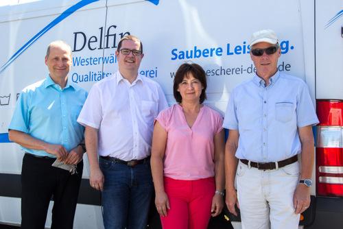 Visite beim Verein für Behindertenarbeit in Hachenburg