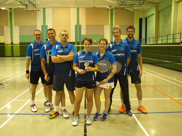 Sieg und Niederlage f�r die 1. Mannschaft des BC �Smash� Betzdorf