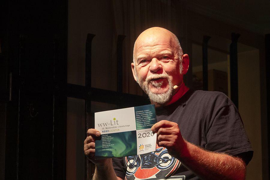 Bernd Gieseking kommt wieder im Literatursommer 2021. Foto: Wolfgang Tischler