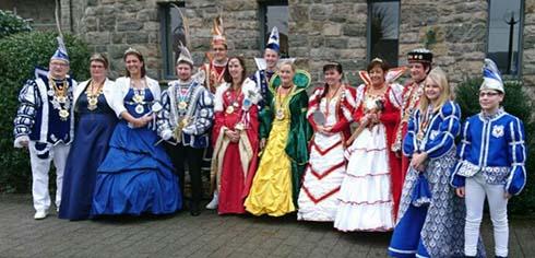 Närrisches Gipfeltreffen beim Karnevalsverein Scheuerfeld