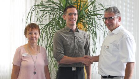 Philipp Gräf ist neuer Leiter des Forstreviers Buchfinkenland