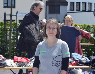 Greenpeace-Aktion beim Stadtfest Altenkirchen