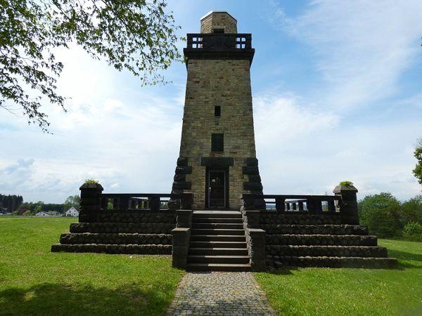 Der Bismarckturm: Wahrzeichen der Stadt Altenkirchen