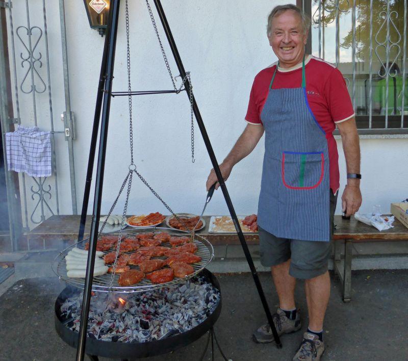 WWV Bad Marienberg feierte Sommerfest an der Schorrberg-Hütte