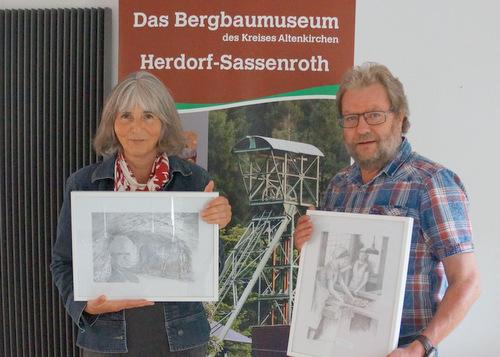 Ulrike Aepfelbach bringt Kunst ins Bergbaumuseum