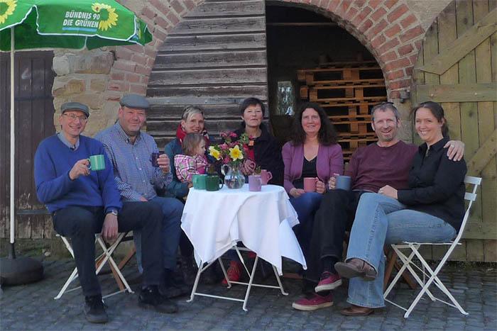 Die Grünen gehen in Brückrachdorf an den Start
