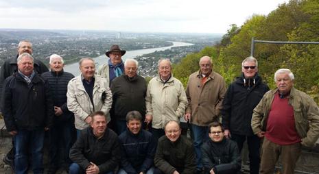 Tagesausflug f�hrte Chor nach K�nigswinter