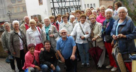 Frauenchor Pracht besuchte Trier und Saarburg