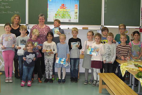 Ernährungsführerschein an der Märkerwald-Schule bestanden