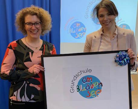 Neues Schullogo für die GS am Blauen See Vettelschoß