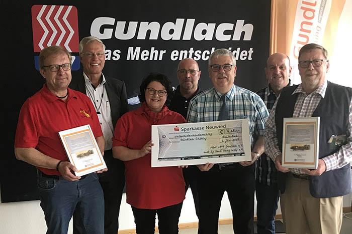 """Gundlach-Stiftung dankbar für große, """"musikalische"""" Spende"""