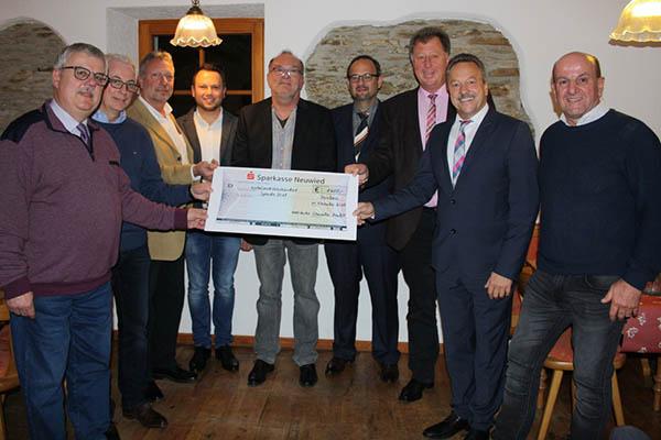 Von links: Wolfgang Runkel, Volker Mendel, Thomas Schausen, Hans-Peter Füllenbach, Jörg Kemmler, Jan Petry, Horst Rasbach, Hans Werner Breithausen und Jürgen Eisenhuth. Foto: privat