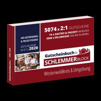 Buchtipp: Gutscheinbuch Schlemmerblock Westerwaldkreis & Umgebung