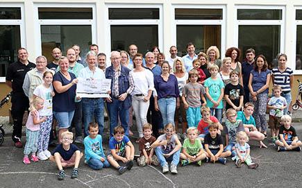 Spende an Elterninitiative der Grundschule Herkersdorf-Offhausen